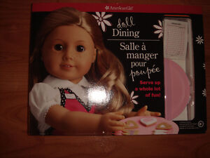 American Girl Doll Dining New in Box