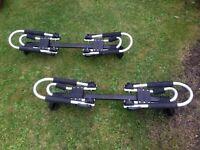 Kayak carrier roof rack L brackets