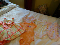 girls clothing 6 mths, 6-9mths, and 9 mths.