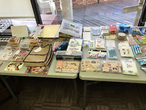Scrapbooking and Crafting Garage Sale