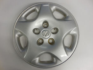 "DODGE CARAVAN 2001-2003 WHEEL COVER 15"" SILVER 04694958AA"