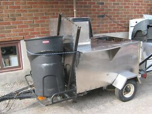 HOT DOG / SAUSAGE Cart TRAILER