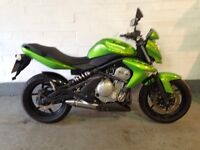 Kawasaki er6-n 2009 9000 miles one owner mot March 2017