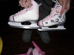 Girls R eebok Skates Size 13 Jr