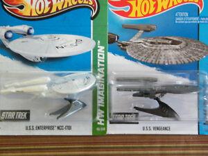 Hot Wheels Star Trek Enterprise and Vengence