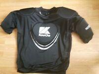 Kooga Warrior III Adults Black Body Armour/Protector Rugby
