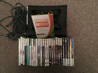 XBOX 360, 20+ games, 3months live