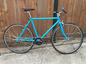 Single speed retro racer restored with new parts - new price