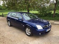 VAUXHALL VECTRA 2005 ESTATE YEARS MOT. DRIVES LOVELY.