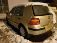 Volkswagen Golf 1.6 SE AIR CON GOOD RUNNER FULLY OPERATIONAL