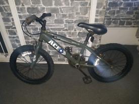 Army bmx bike