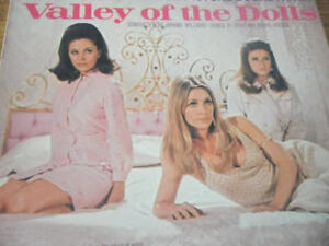 1967 Valley of the dolls vinyl record- Sharon Tate
