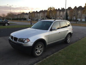 2005 BMW X3 2.5i AWD SUV, Crossover