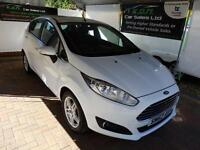 Ford Fiesta 1.5TDCi ( 75ps ) 2013.25MY Zetec in white