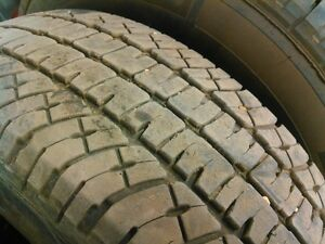 4 x LT 265 70 18 Michelin LTX A/T Tires