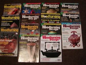 WOODWORKING MAGAZINES: WOODTURNING & WOODTURNING DESIGN