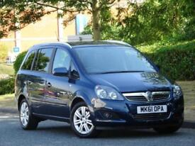 Vauxhall Zafira 1.6i 16v 2012 Excite + 7 SEATER +PARKING SENS +7 SERVICE STAMPS