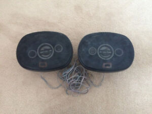 2 SETS OF CAR SPEAKERS FOR SALE! CHEAP! $10 EACH!
