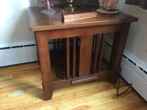 Wooden small table