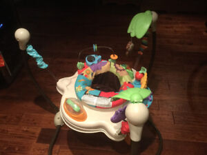 Jumperoo/Exersaucer- Luv U Zoo by Fisher Price