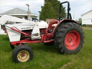 tracteur David Brown 990