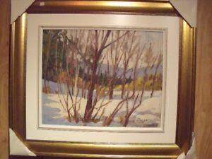 Tatossian, 16x20, landscape, oil on canvas / tableau à l'huile