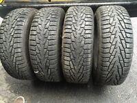 Nokian hakapellita 235/65/17 Winter tires