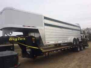 CM Trailers Aluminum Roundup Stock Trailer