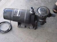 used pool pump