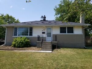 Renovated 2 bedroom bungalow with large backyard