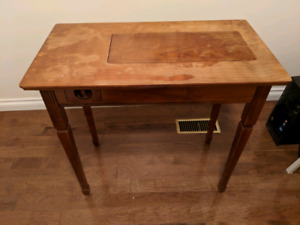 Vintage sewing machine table / or Desk
