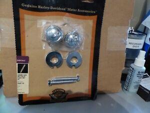 Harley-Davidson Chrome rear axle adjuster & axle nut - 43429-02