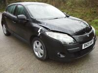 2009 Renault Megane 1.5dCi ( 86bhp ) Dynamique DAMAGED SPARES OR REPAIR SALVAGE