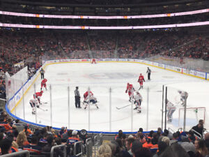 Lower Bowl, Extra-Wide Aisle Seats to Oilers 2017/18