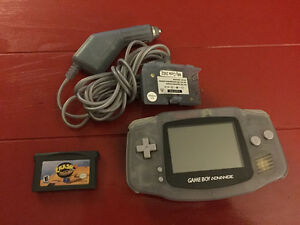 Gameboy advance with power pack and game