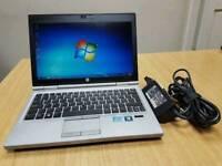 HIGH PERFORMANCE HP ELITEBOOK LAPTOP- i5 2.8GHZ- 10GB RAM- WIN 10 PRO- PORTABLE