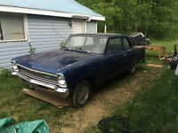 66 Chevy II 2 door post