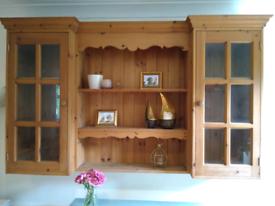 Beautiful old pine wall unit