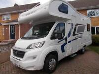 Swift Escape 644 2016 4 Berth Motorhome 4 Travelling Seats with Belts