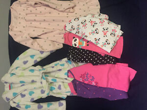 Girls pj lot size 7