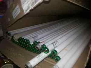 """48"""" Fluorescent Tubes - Used"""