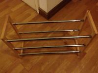 Shoe rack great condition