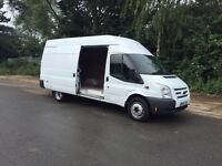 2012-62-Reg ford transit 155-460 model 2.2TDCIeuro5 jumbo free delivery any were in uk