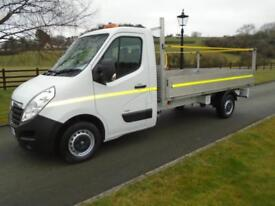 VAUXHALL MOVANO F3500 125 CDTI 12FT 6IN DROPSIDE PICKUP 15 REG 61,000 MILES
