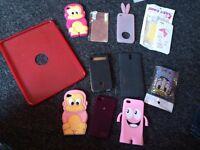 iPad and phone cases bundle