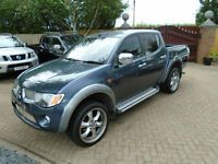 2007 Mitsubishi L200 2.5DI-D 4WD Double Cab Pickup Animal