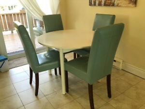 Table and Comfortable Chairs