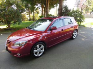 2006 MAZDA3 GT LEATHER MOONROOF