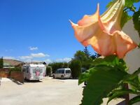 Caravan Plot for rent Spain