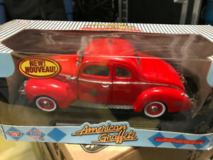 Ford pompier fire chief ford 1940 diecast 1/18 die cast